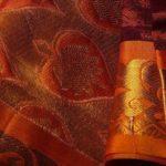 banaras jaquard saree design